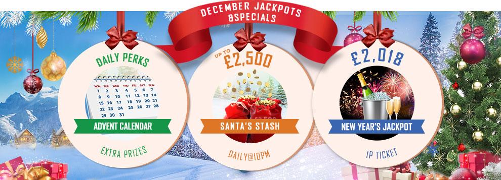 December Jackpots