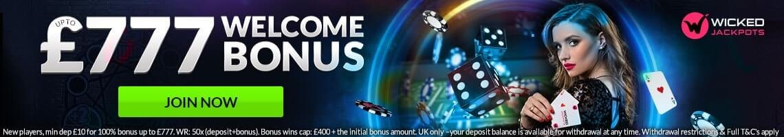Wicked Jackpots Promotion