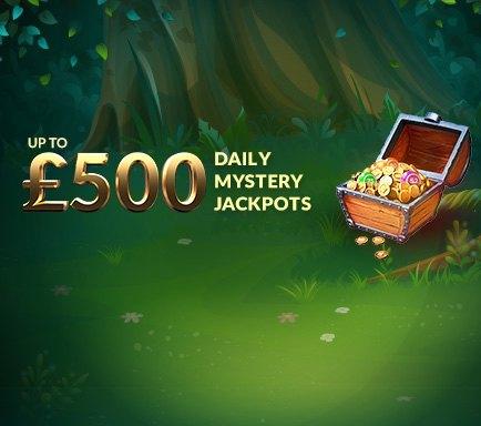 Mystery Jackpot bingo room