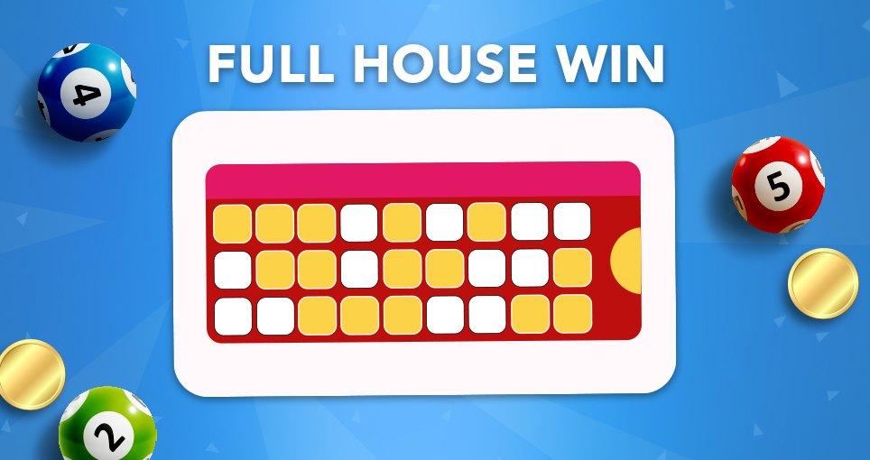 90 ball bingo full house