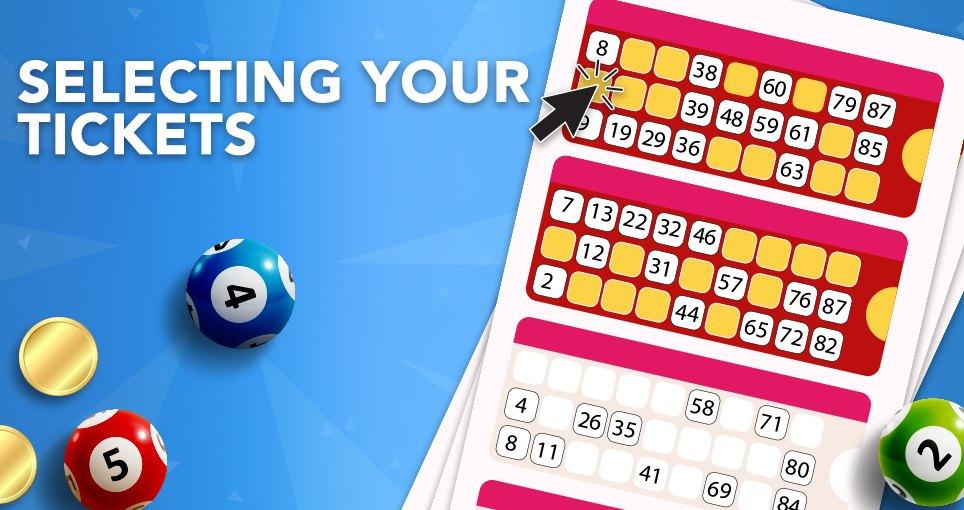 90 ball bingo manual select
