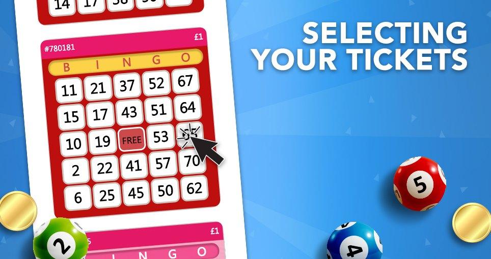75 ball bingo manual select