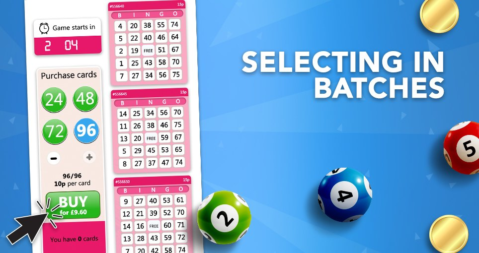 75 ball bingo batch select