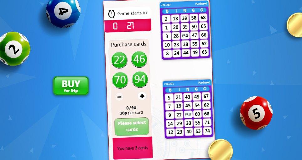 75 ball bingo purchased tickets